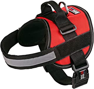 Dog Harness, Reflective No-Pull Adjustable Vest with Handle for Walking, Training, Service Breathable No - Choke Harness f...