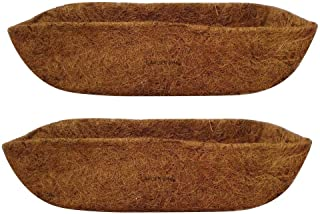 GARDEN KING 24 INCH ECO Friendly Coir Liner for 24 INCH Wall Mounted Planter (2)
