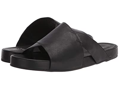 Eileen Fisher Ease (Black Leather) Women