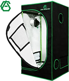 "GA Grow Tent 24"" x 24'' x 48'' 2-in-1 Grow Tent 35"" x 24'' x 53'' 48""x36""x72"" 60""x48""x80"" Mylar Reflective Grow Tent for I..."