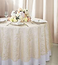 sheer overlay table linens