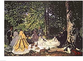 Le Dejeuner sur l'Herbe, 1866 by Claude Monet Art Print, 43 x 32 inches
