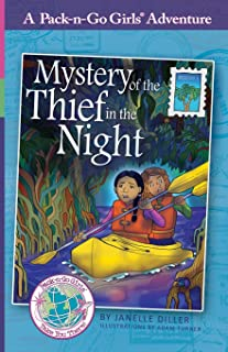 Mystery of the Thief in the Night: Mexico 1 (Pack-n-Go Girls Adventures)