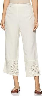 global desi Women's Straight Fit Regular Pants