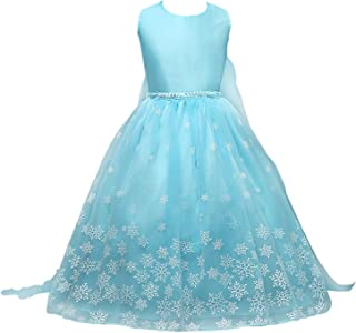 ice blue princess dress