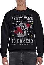 Santa Jaws is Coming Ugly Christmas Sweatshirt