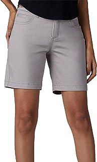 LEE Womens Belted Bradbury Denim Shorts 16 Palisade Grey
