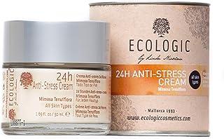 Crema Facial Anti Estrés 24h (Mimosa Tenuiflora y Manzanilla) - 50 ml. Ecologic Cosmetics by Linda Nicolau. Bio cosmética ...