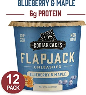 Kodiak Cakes Pancake On the Go, Blueberry and Maple, 2.16 Ounce (Pack of 12)
