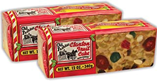 Claxton Fruit Cake 2-12 Oz. Sampler Pack