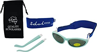 Baby Wrapz 2Head Bands and Removable Arms–Modular Sunglasses 0-5Years  light blue