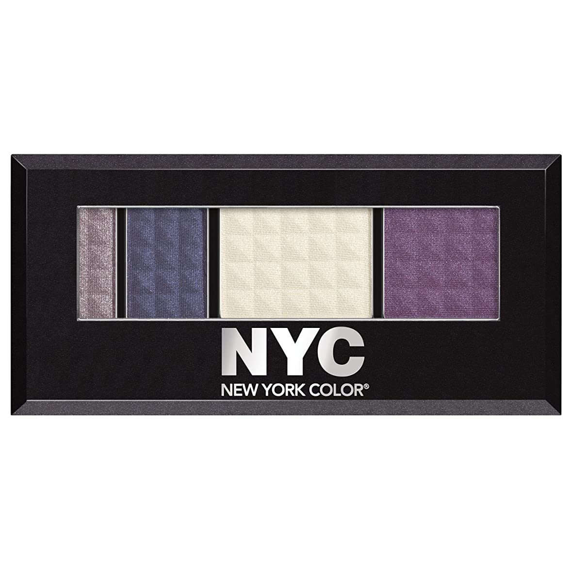 肘掛け椅子繊維懲らしめNew York Color Eye Shadow, Metro Quartet, Queens Boulevard 796 0.12 oz (3.4 g) by NYC