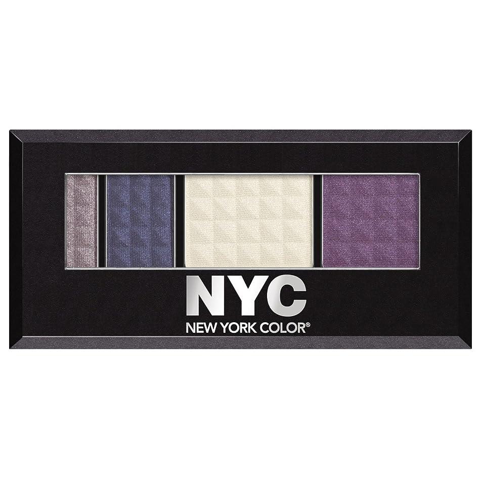 分離する折る尊敬するNew York Color Eye Shadow, Metro Quartet, Queens Boulevard 796 0.12 oz (3.4 g) by NYC
