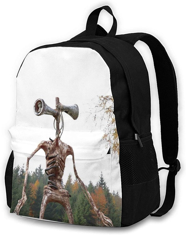 Siren Choice Head Horror Backpacks School Travel Max 76% OFF Bags Bookbag Business