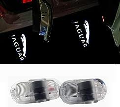 ZTMYZFSL 2 Unids Coche Logo Proyección Proyector LED Puerta fantasma Shadow Light Bienvenido Lámpara de Luz