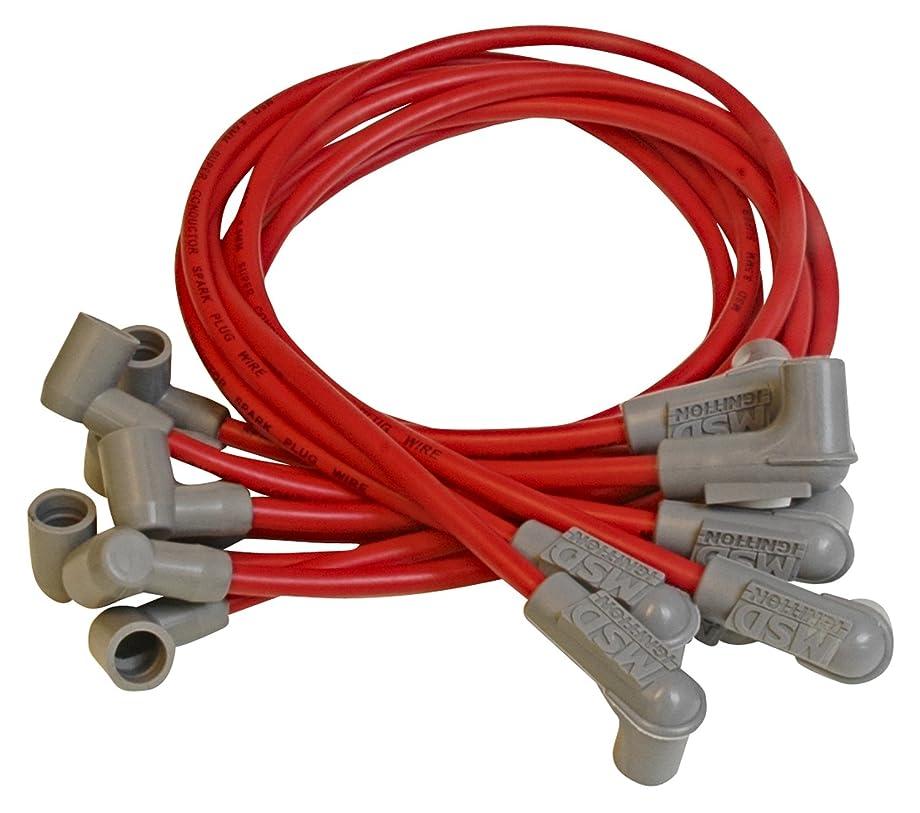MSD 31599 8.5mm Super Conductor Spark Plug Wire Set
