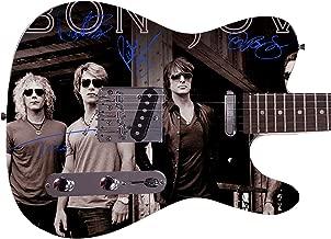 Jon Bon Jovi Autographed Signed Custom Graphics Guitar