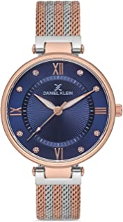 Daniel Klein Premium Ladies - Blue Dial Multicolor Band Watch - DK.1.12560-5