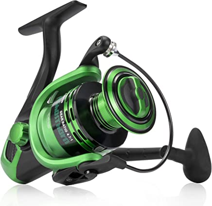 Spinning Fishing Reel - Carbon Fiber Drag Washers 42.5 Lb...