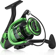 Spinning Fishing Reel - Carbon Fiber Drag Washers 42.5 Lb Max Drag - Ultra Smooth Powerful Spinning Fishing Reel Stainless...