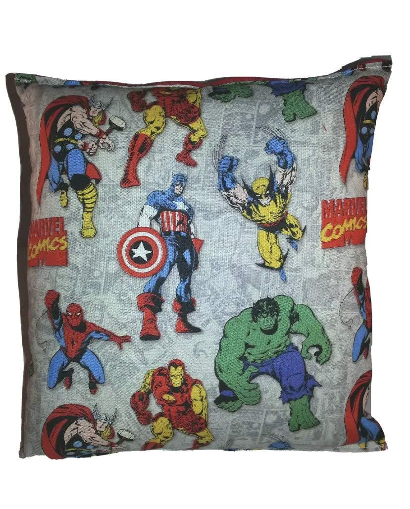 Marvel Pillow Finally resale start Vintage Direct store Hulk Wolverine I Captain Spiderman America