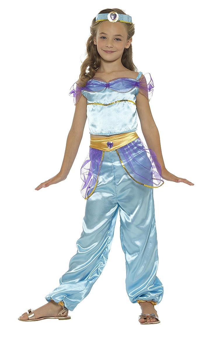 考えた欠席解説(Medium 7 -9 Years, Blue) - Smiffys Arabian Princess Girls Fancy Dress Fairytale World Book Day Kid Child Costume