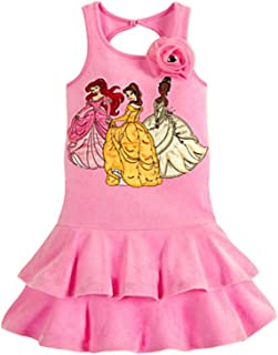 Store Deluxe Multi Princess Cover-Up Swimsuit Ariel Belle Tiana