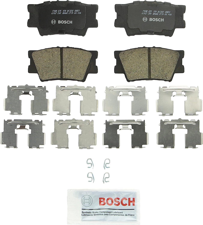 Bosch BC1212 QuietCast Premium Ceramic Rear Disc Brake Pad Set