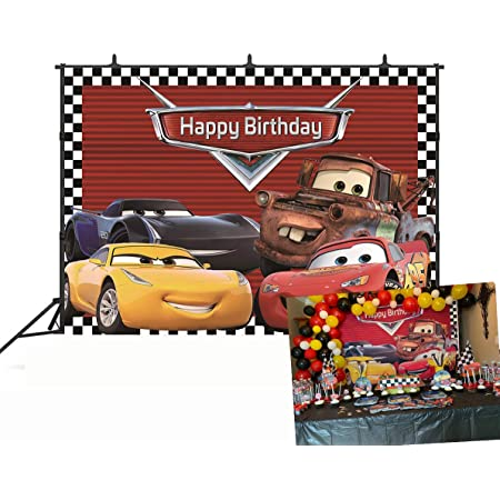 5x5FT Vinyl Photography Backdrop,Cars,Red Dragster Automobile Photo Background for Photo Booth Studio Props