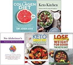 The Collagen Diet, Keto Kitchen, No Alzheimer's Smarter Brain Keto Solution, The Keto Crock Pot Cookbook for Beginners, Th...
