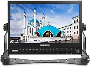 SEETEC P133-9HSD 13.3 Inch Pro SDI Broadcast Monitor Professional LCD Director Studio Production Monitoring IPS Screen Full HD 1920×1080 Aluminum Design with 3G-SDI 4K HDMI AV YPbPr