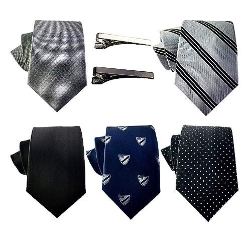 Hugo Boss Mens Dark Gray 100/% Silk Knitted Square End Tie
