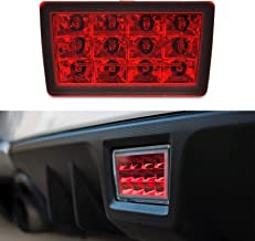 F1 Style LED Rear Fog Brake Light for 11-18 Subaru WRX 13-18 XV 11-18 Impreza GP