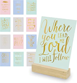 scripture cards with stand