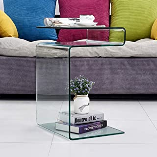 Amazon Com Coffee Tables Clear Coffee Tables Tables Home Kitchen