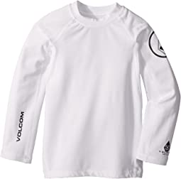 Volcom Kids - Lido Solid Long Sleeve Thrashguard (Toddler/Little Kids)