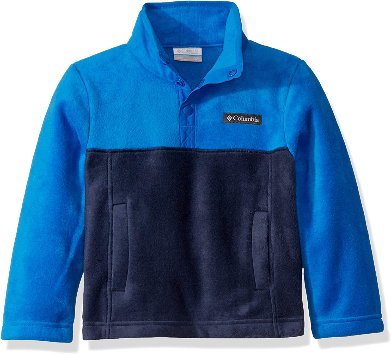 Columbia unisex-child Steens Mtn/1//4 Snap Fleece Pull-over Fleece Jacket
