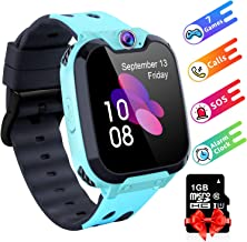 "Moweallarge Kids Smartwatch with Music Player [Including 1GB SD Card] 1.54"" HD Touch.."