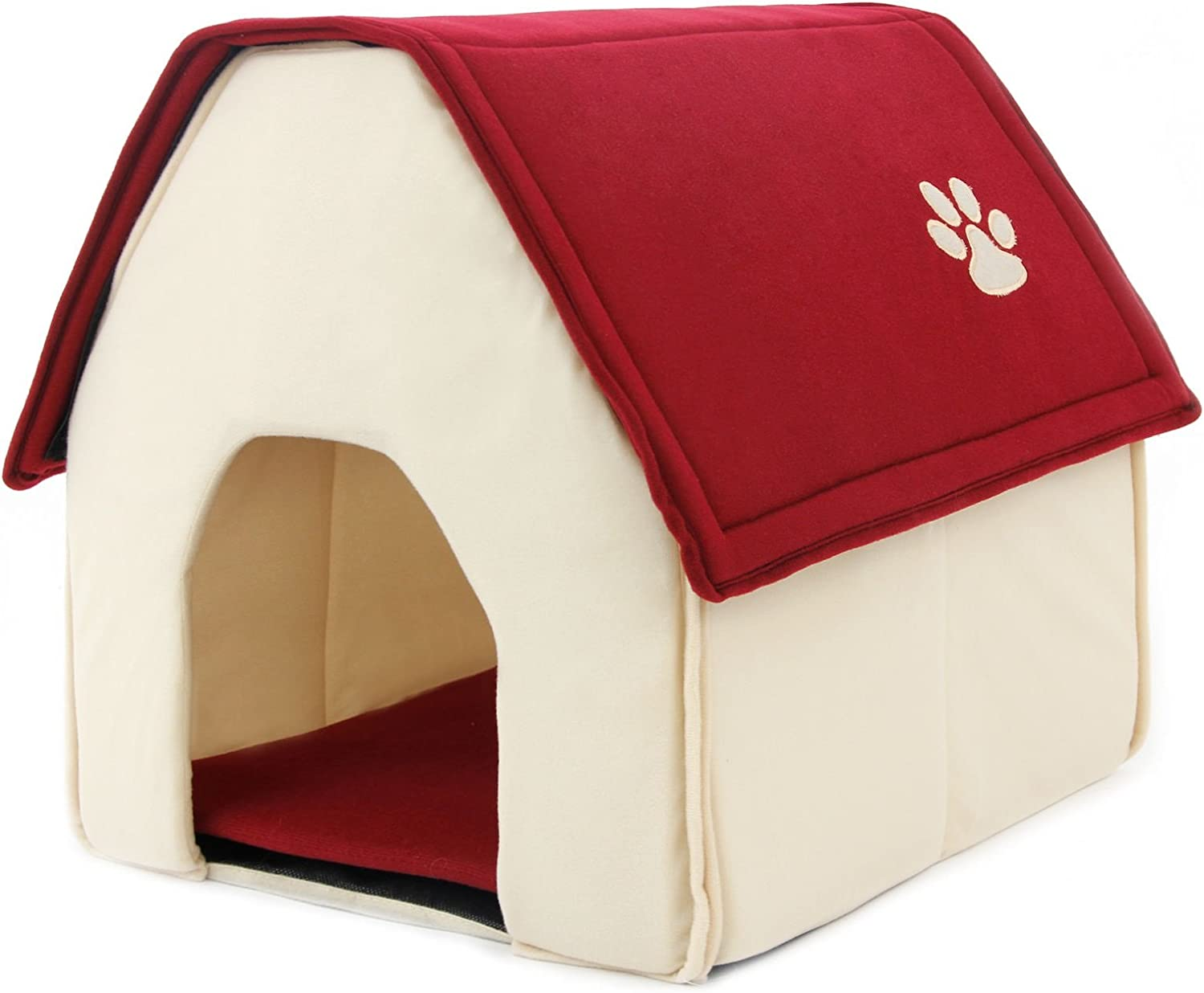 Anyway Small Dog House Pet Bed Cozy Puppy