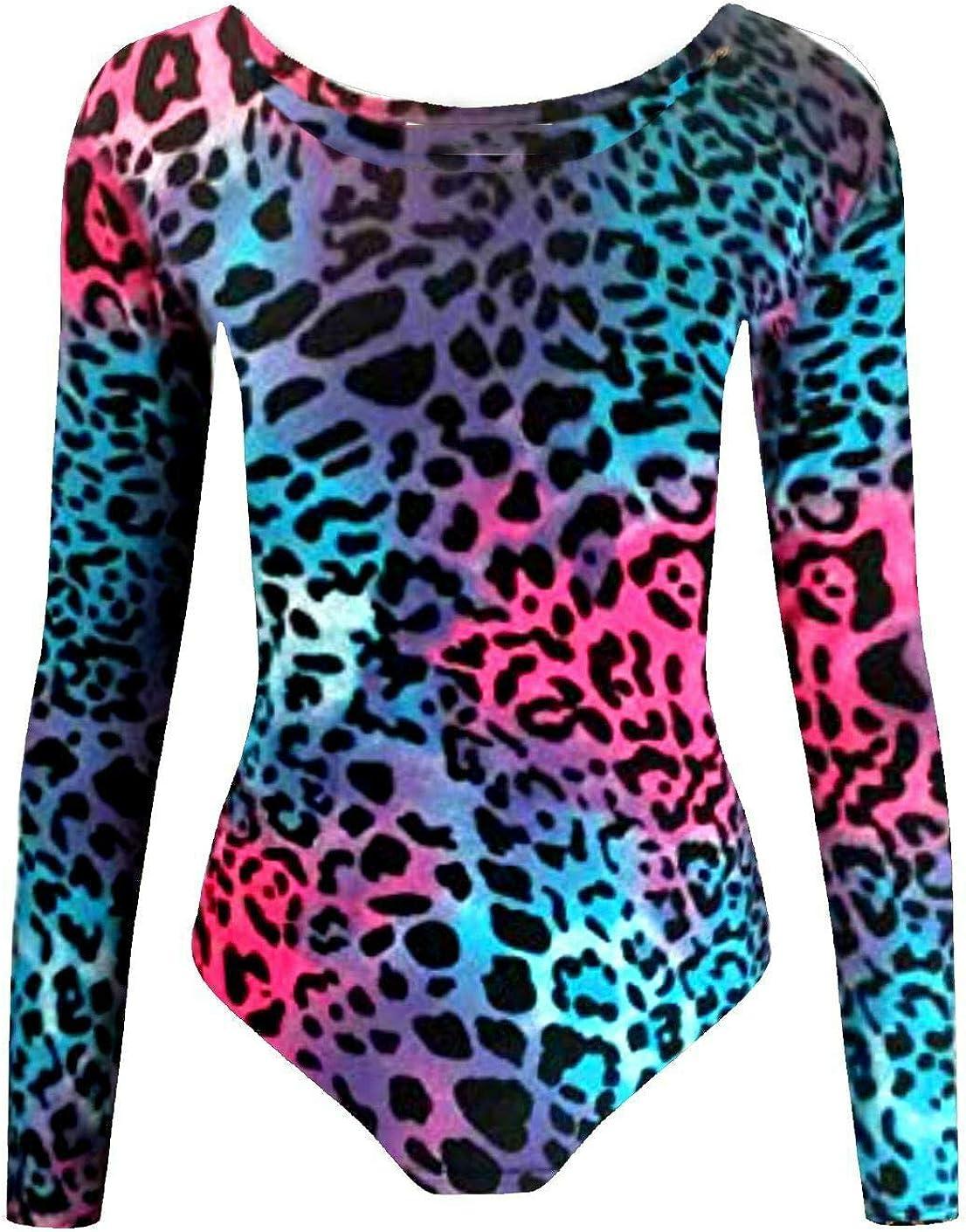 Loxdonz Girls Bodysuit Leotard Top Toddler Dance Bodycon Ballet Jumpsuit Gymnastics Romper