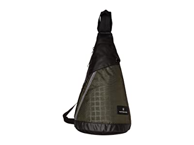 Victorinox Altmont 3.0 Dual-Compartment Monosling (Green/Black) Backpack Bags