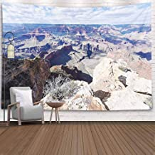 Sertiony Tenaly Tapestry Wall Hanging,Colorful Tapestry Wall Hanging 80X60 Inches Water Carved Grand Canyon Layers Rocks Cut Through Colorado College Dormitory Decorative Tapestry,Tapestry Wall Decor