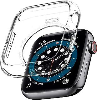 Spigen Liquid Crystal designed for Apple Watch case cover for 44mm Series 6/SE/5/4 - Crystal Clear