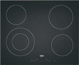 Beko HIC 64401 7756286734 - Réchaud à induction en verre - Table de cuisson vitrocéramique encastrable- 6800 W