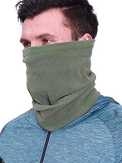 Arcweg Neck Warmer Thermal Fleece Face Snoods Windproof Men Women Motorcycle Neck Tube Scarf Elastic Unisex Outdoor Neckwe...