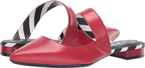 Scarlet Leather Stripes