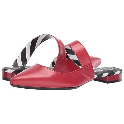 Calvin Klein Arelys (Scarlet Leather Stripes) Women