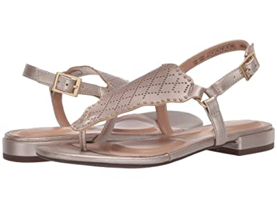 Rockport Total Motion Zosia Wave Thong (Moon Gold) Women