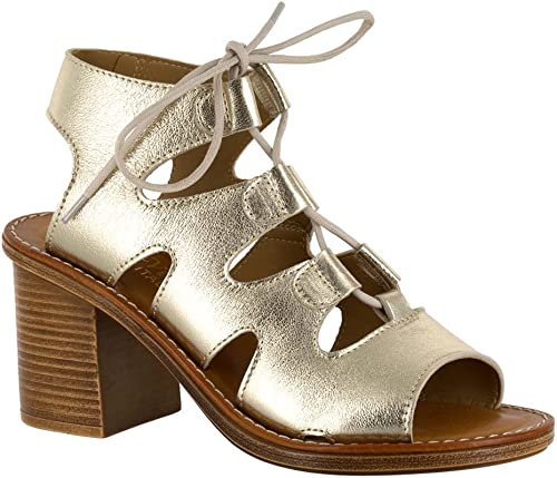 Bella Vita Wohommes BRE- Ghillie Tie Sandal