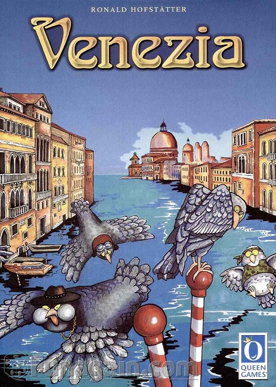 Queen Games 6018  Venezia [German Version]